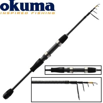 Удилище спиннинговое OKUMA Light Range Fishing UFR Tele 1,8 м тест 1 - 7 г в интернет магазине Rybaki.ru