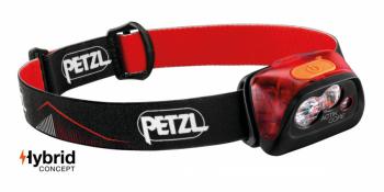 Фонарь налобный PETZL Actik Core GA цв. красный в интернет магазине Rybaki.ru