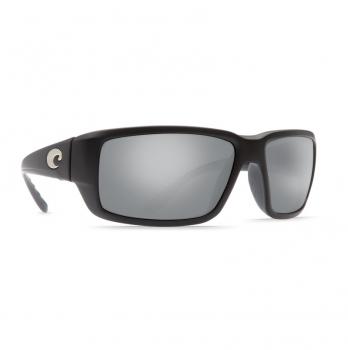 Очки поляризационные COSTA DEL MAR Fantail 580G р. M цв. Matte Black Global Fit цв. ст. Gray Silver Mirror