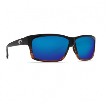 Очки поляризационные COSTA DEL MAR Cut 580P р. L цв. Coconut Fade цв. ст. Blue Mirror