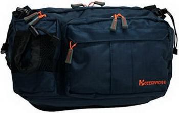 Сумка GEECRACK GEE602 Hip Bag Type-2 № 007 цв. Navy (17 x 30 x 9 см) в интернет магазине Rybaki.ru