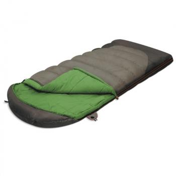 Спальный мешок ALEXIKA Summer Wide Plus 2° одеяло правый цв. Оливковый в интернет магазине Rybaki.ru