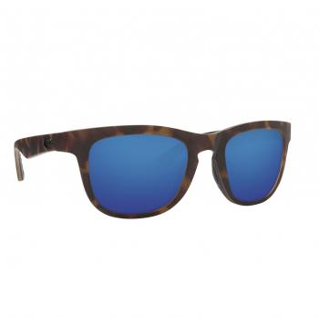 Очки поляризационные COSTA DEL MAR Copra W580 р. M цв. Retro Tortoise w/Black temples цв. ст. Blue Mirror Glass
