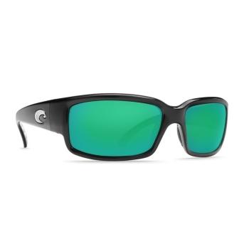 Очки поляризационные COSTA DEL MAR Caballito W580 р. M цв. Black цв. ст. Green Mirror Glass
