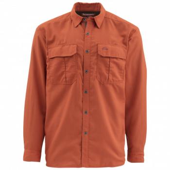 Рубашка SIMMS Coldweather LS Shirt цвет orange