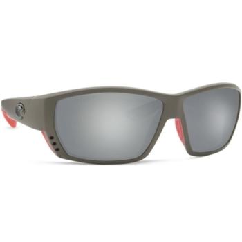 Очки COSTA DEL MAR Tuna Alley 580 GLS р. L цв. Race Gra цв. ст. Gray Silver Mirror