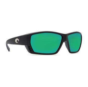 Очки поляризационные COSTA DEL MAR Tuna Alley 580P р. L цв. Matte Black Global Fit цв. ст. Green Mirror