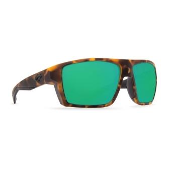 Очки поляризационные COSTA DEL MAR Bloke 580P р. XL цв. Matte Retro Tortoise + Matte Black цв. ст. Green Mirror