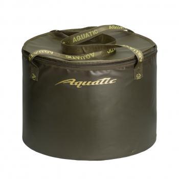 Ведро AQUATIC В-07 для замешивания корма 70 л (герметичное, с крышкой) в интернет магазине Rybaki.ru