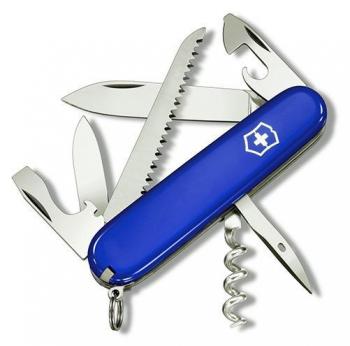 Нож VICTORINOX Camper R 91 мм синий карт. коробка