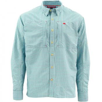 Рубашка SIMMS Bugstopper Shirt цвет Oxford Blue Plaid