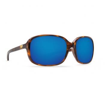 Очки поляризационные COSTA DEL MAR Riverton 580P р. S цв. Shiny Tortoise цв. ст. Blue Mirror