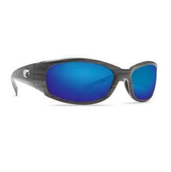 Очки поляризационные COSTA DEL MAR Hammerhead 580P р. XL цв. Silver Teak цв. ст. Blue Mirror