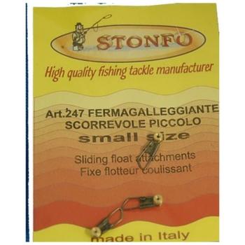 Крепеж STONFO 247 поплавка (скользящий) латунь маленький (3 шт.)