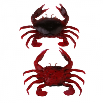 Краб SAVAGE GEAR LB 3D Manic Crab 5 см цв. Red & Black Crab (4 шт.)