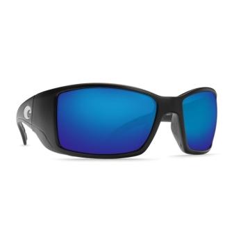 Очки поляризационные COSTA DEL MAR Blackfin W580 р. L цв. Matte Black Global Fit цв. ст. Blue Mirror Glass