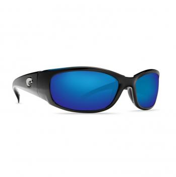 Очки поляризационные COSTA DEL MAR Hammerhead W580 р. XL цв. Shiny Black цв. ст. Blue Mirror Glass