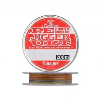 Плетенка SUNLINE PE Jigger ULT 4braid 200 м цв. Многоцветный 0,165 мм в интернет магазине Rybaki.ru