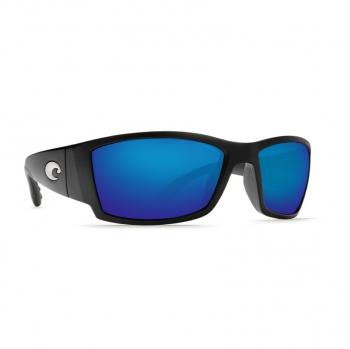 Очки поляризационные COSTA DEL MAR Corbina W580 р. L цв. Matte Black Global Fit цв. ст. Blue Mirror Glass
