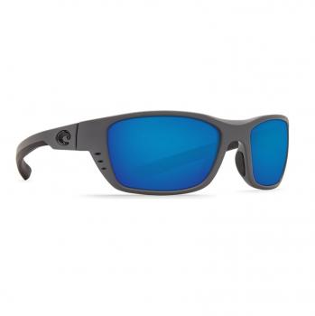 Очки поляризационные COSTA DEL MAR Whitetip 580P р. M цв. Matte Gray цв. ст. Blue Mirror
