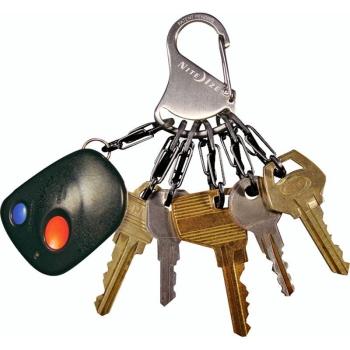 Брелок для ключей NITE IZE Key Rack мтл кар. цв. стальной в интернет магазине Rybaki.ru