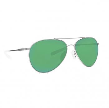 Очки поляризационные COSTA DEL MAR Piper 580P р. M цв. Velvet Silver цв. ст. Green Mirror