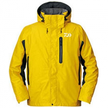 Куртка DAIWA GORE-TEX D3 Barrier Jacket цвет yellow в интернет магазине Rybaki.ru