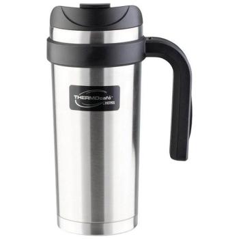 Термокружка THERMOS ThermoCafe Navy Travel Mug (тепло 4 ч/холод 6 ч) 0,47 л в интернет магазине Rybaki.ru