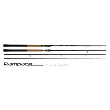 Удилище фидерное ZEMEX Rampage River Feeder 13 ft тест 150 г