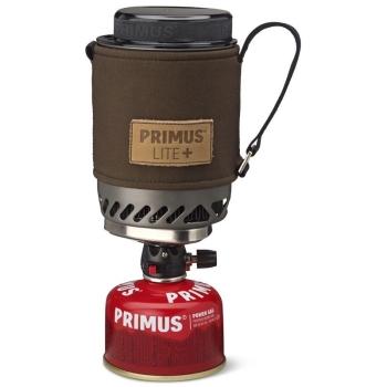 Комплект PRIMUS Lite Plus Dark Olive Piezo горелка с кастрюлей 0,5 л в интернет магазине Rybaki.ru