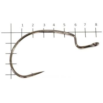 Крючок офсетный DECOY Hook Worm 18 № 5/0 (4 шт.) в интернет магазине Rybaki.ru