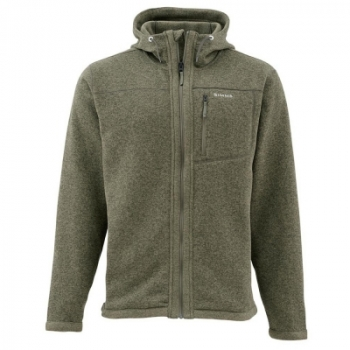 Куртка SIMMS Rivershed Full Zip Hoody цвет Loden в интернет магазине Rybaki.ru