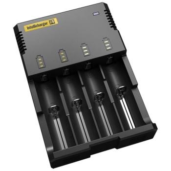 Зарядное устройство NITECORE NiteCore V2 Intellicharge i4 Универс на 4 АКБ в интернет магазине Rybaki.ru