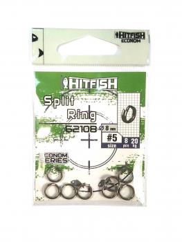 Кольцо заводное HITFISH Econom Series Split Ring № 0 (12 шт.)