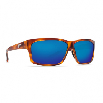 Очки поляризационные COSTA DEL MAR Cut W580 р. L цв. Honey Tortoise цв. ст. Blue Mirror Glass