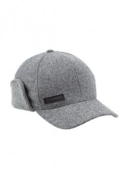 Шапка SIMMS Wool Scotch Flexfit Flap Cap цв. Charcoal