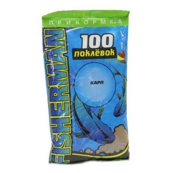 Прикормка SUPER CARP 100 Поклевок Карп 0,9 кг в интернет магазине Rybaki.ru