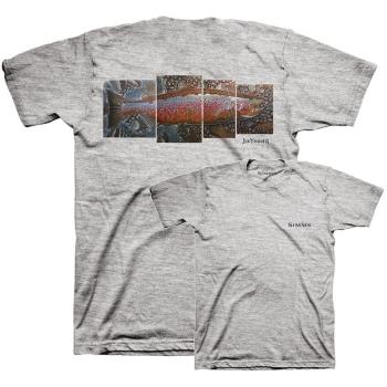 Футболка SIMMS DeYoung Salmon T-Shirt цвет Grey Heather