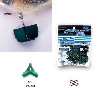 Защита для крючка MEIHO Versus VS-50 Ranker Pack SS (90 шт.) цв. зеленый в интернет магазине Rybaki.ru
