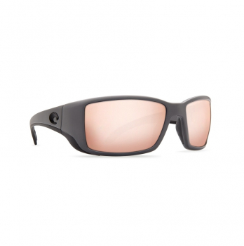 Очки поляризационные COSTA DEL MAR Blackfin 580G р. L цв. Matte Gray цв. ст. Copper Silver Mirror