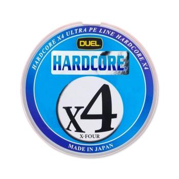 Плетенка DUEL PE Hardcore X4 200 м 5Color 0,121 мм в интернет магазине Rybaki.ru