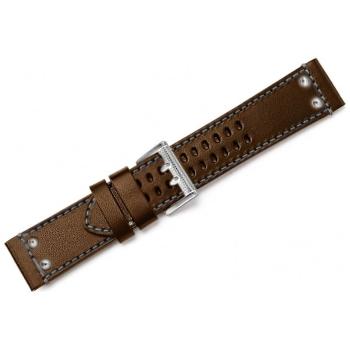 Ремешок LUMINOX из кожи теленка для часов 1920 цв. коричневый в интернет магазине Rybaki.ru