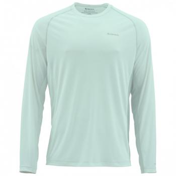 Термофутболка SIMMS Solarflex LS Crewneck - Solid цвет Wintergreen
