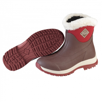 Сапоги MUCKBOOT Arctic Apres цвет коричневый/красный