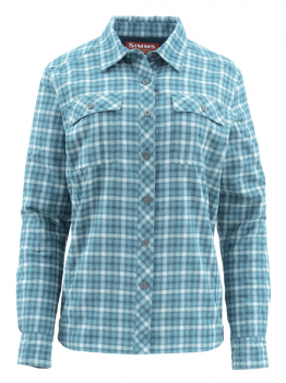 Рубашка SIMMS Women's Guide Insulated LS Shirt цвет Mermaid Plaid