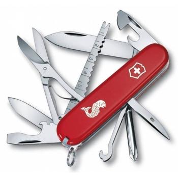 Нож VICTORINOX Fisherman красный 18 функций 91 мм карт.коробка
