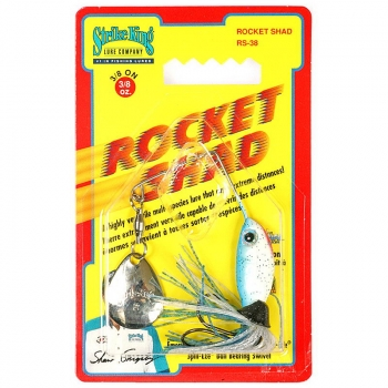 Спинербэйт STRIKE KING Rocket Shad 10,5 г (3/8 oz) цв. blue shad в интернет магазине Rybaki.ru