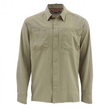 Рубашка SIMMS Ebb Tide LS Shirt цвет Dark Khaki