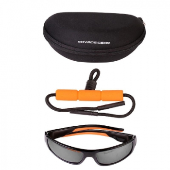 Очки SAVAGE GEAR Savage Eyes Polarized Sunglasses цв. Dark Grey (Sunny)