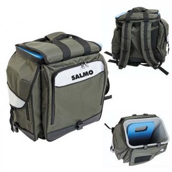 Ящик-рюкзак SALMO 61 (Из Трёх Частей) 30 х 38 х 38 см в интернет магазине Rybaki.ru